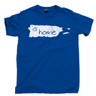 Puerto Rico Is Home T Shirt Made In Hecho En Pround Puerto Rican Pride Taino Tee