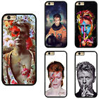 Famous Celebrity David Bowie Plastic Hard Phone Case Cover For iPhone / Samsung
