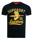 New Mens Superdry Colosseum T-Shirt Eclipse Navy