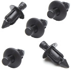 Motorcycle push rivets, black, plastic, 6,7,8mm, reusable, OEM quality.