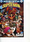 NEW SUPER-MAN REBIRTH VARIANT EDITION COMIC #11 MAY 10 JUNE 2017 DC