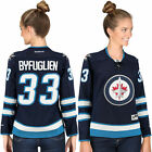 Womens Dustin Byfuglien Reebok Winnipeg Jets Navy Blue Premier Player NHL Jersey