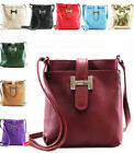 LeahWard Women's Real Leather Small Cross Body Messenger Bags Handbag For Women