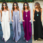 Newest Women Boho Casual Long Maxi Evening Party Cocktail Beach Dresses Sundress