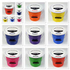 New Pack of 5 Charity Street Collecting Buckets Fundraising Donation 8 Colours