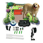 No-Wire /Wire Underground Waterproof Shock Collar Electric Fence System 1 2 3 Dog