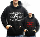 STAFFORDSHIRE BULL TERRIER STAFFIE STAFFY HOOODIE STAFFY KIDS & ADULTS SIZE
