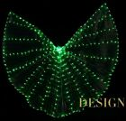 LED ISIS WINGS 300 lights belly dance costumes light club show 5 colors