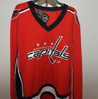 NHL Washington Capitals Hockey Jersey New Mens Sizes MSRP $60