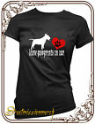 English bull terrier,leave paw prints,dog,t shirt,S-XXL