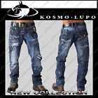 SIZE 35 Mens KOSMO LUPO Jeans Italian Design K&M (Sold AS IS - see description)