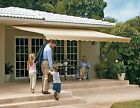 SunSetter Motorized Retractable Awning, 16 x 10 ft. Outdoor Deck & Patio Awnings