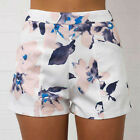 Fashion Womens Ladies High Waist Summer Casual Floral Beach Hot Pants Shorts New