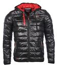 Geographical Norway homme - Doudoune Noir Geographical Norway MP3 Brith