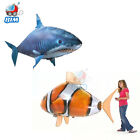 Air Flying Shark Clown Fish Swimmer Remote Controll RC Kids Toy Nemo Balloon New