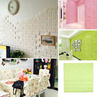 Waterproof 3D Brick Wall Sticker Self-adhesive Panel Home Decal Embossed ~Cheap!