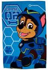 Paw Patrol Spy Blue Fleece Blanket Bed Throw Kids Boys Bedroom