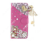 New Wallet Case Stand Soft Edge Leather Bling Flip Cover For Homtom HT16 HT17