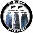 2x Pram Tyres & Tubes 12 1/2 X 2 1/4 Slick Out n about nipper 360 mamakiddies