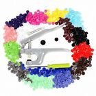 150 Complete Sets KAM Snaps T5 Press Poppers Resin Snaps Fasteners + 1 Pliers