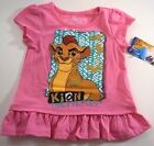 New Disney Lion Guard toddler girls shirt size 2T 3T 4T 5T Pink Kion