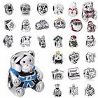 925 Silver Charms Cartoon Beads For Sterling European silver bracelets AU1103