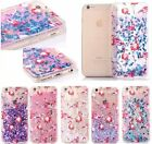 Glitter Stars Dynamic Liquid Quicksand Hard Case Cover for iPhone7/7Plus/6S/6 A1