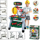 45PC CREATIVE TOOL BENCH PLAY SET WORK SHOP TOOLS KIT BOYS KIDS WORKBENCH TOY