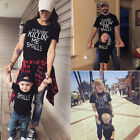 USA Family Clothes Matching Dad Mom Kids T Shirts Blouse Cotton Short Sleeves