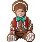 Baby Gingerbread Man Costume Infant Christmas Outfit Fancy Dress