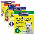 Johnson's One Dose Easy Wormer Tablet Worming Tablet Dog Dewormer Tablets