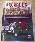 ABERDEEN - 2012/13 - HOME PREMIER LEAGUE PROGRAMMES