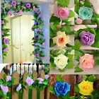 Simulation Rose Flower Vine Wedding Home Decoration Vines Silk Flower Stock
