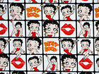 BETTY BOOP Framed : 100% LICENSED cotton : by the 1/2 metre £7.6 GBP