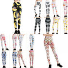 Fitness Workout Gym Colorful Tights Pants Fashion Womens Sports Yoga Jumpsuit