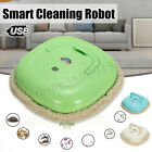New Smart Washable Microfiber Floor Mop Robot Vacuum Cleaner Cleaning Dry US