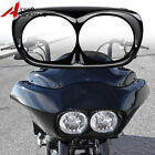 ABS Headlight Bezel Scowl Outer Fairing For Bad Boy Harley Road Glide 1998-2013 $31.99 USD
