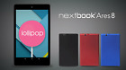 Nextbook Ares 8 inch, 16GB Intel Atom Quad Core Processor Android Tablet
