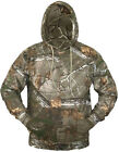 MENS HUNTERS HOODED OVERHEAD JACKET Gents tough cotton camo hoody wood tree camo