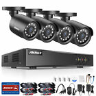 SANNCE 8CH / 4CH 1080N DVR 1500TVL Security 720P TVI Cameras System 1TB / NO HDD