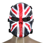 Airsoft Paintball Full Face Protection Skull Mask Army Games Outdoor Metal Mesh