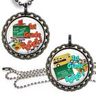 1st Grade Rocks School Children's Bottle Cap Necklace Chain Handcrafted Jewelry