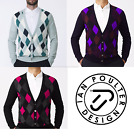 New Ian Poulter Tour Golf  Shapeshifter Jumper Sweater IJP Design Merino Wool