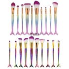 10PCS Kabuki Make up Brushes Set Makeup Foundation Blusher Face Powder Brush TX