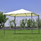 10'x10' Garden Square Gazebo Canopy Tent Shelter Awning Sun Shelter Shade 2Color
