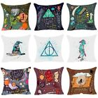 Polyester  Harry Potter Throw Pillow Case Sofa Bed Cushion Cover Home Decor