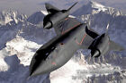Poster, Many Sizes; Sr-71 Blackbird Was Developed From The Cia'S A-12 Oxcart