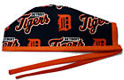 Men's Unlined Surgical Scrub Hat  in Detroit Tigers Navy