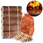 THE CHEMICAL HUT® Quality Wooden Kindling & x5 Long Lasting Pizza Oven Fuel Logs
