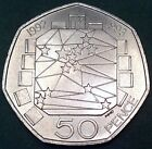 SUPERB 1992 / 1993 'EEC' 50P COIN.  VERY RARE AND EXTREMELY